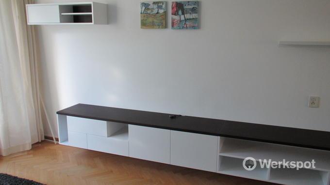 olinova interieurbouw tv meubel boekenkast boekenplank 3