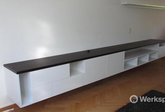 Sfeerhaard Tv Meubel : Olinova projecten overzicht maatwerk meubels