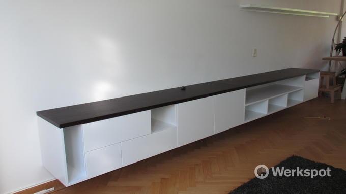 olinova interieurbouw tv meubel boekenkast boekenplank 8